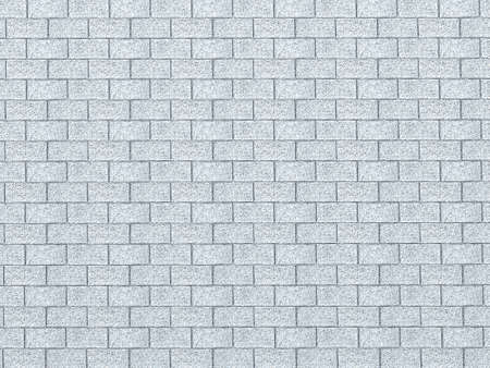 Vintage Blue color brick wall background. Brick Textures Series photo