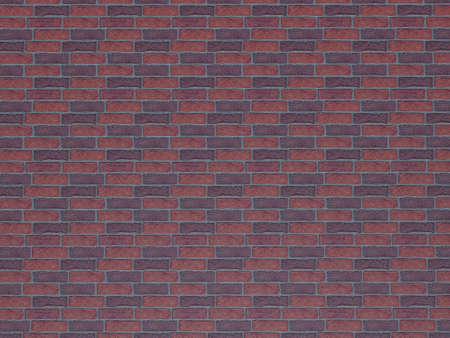 Red brick wall background. Brick Textures Series. photo