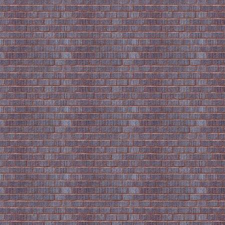 Vintage light purple color brick wall background. Brick Textures Series photo