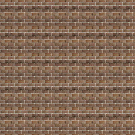 Rough Red brick wall background. Brick Textures Series. photo