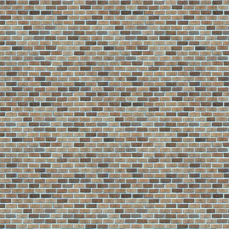 Vintage Blue color brick wall background. Brick Textures Series photo