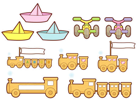 The Various Transportation sets. Transportation Vector Icon Series Vector