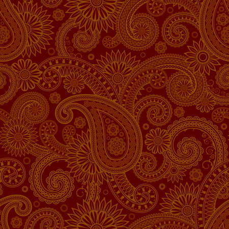 Various Colors of Damask Style Pattern design. Original Pattern and Symbol Series.