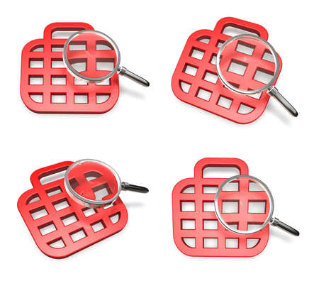 3d mouse: 3D mouse as a symbol and icon. 3D Icon Design Series. Stock Photo