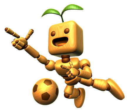 jointed: 3D Wood Doll Mascot is a powerful jumping. Wooden Ball Jointed doll Character Design Series.