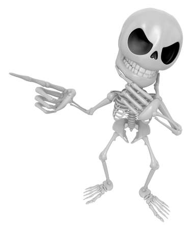 recall: 3D Skeleton Mascot is idea never crosses my mind. 3D Skull Character Design Series.