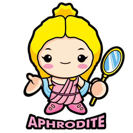 aphrodite: Of the goddess Aphrodite Illustration
