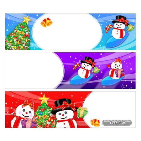 amemorial day: Snowman Mascot using a variety of banner designs. Christmas Character Design Series.