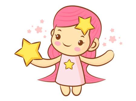 character design: Virgo Constellation Character Design. Zodiac Character Design Series.