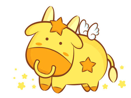 character design: Taurus Constellation Character Design. Zodiac Character Design Series.