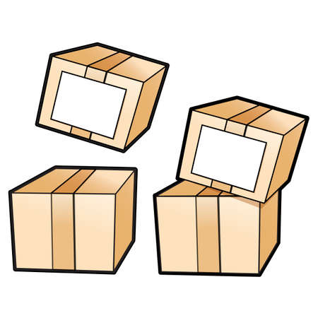 package deliverer: Different styles of Delivery Box Sets. Product and Distribution System Design Series.