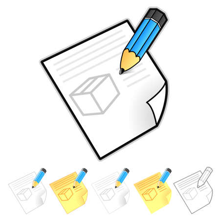 package deliverer: Delivery Order page Illustration. Product and Distribution System Design Series.