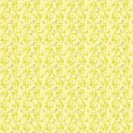 artnouveau: Light Yellow Colors Art Nouveau Style Pattern design. Original Pattern and Symbol Series. Illustration