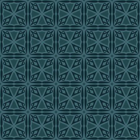 bluish: Bluish Green Colors Square grid Pattern design. Original Pattern and Symbol Series. Illustration