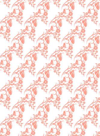 nobby: Korea flower and butterfly pattern Design. Korean traditional Pattern is a Pattern Design Series. Illustration