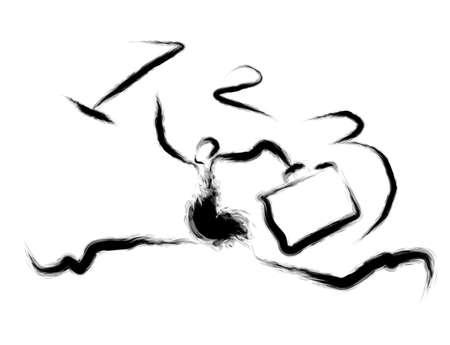 rankings: Vigorous movement towards businessmen rankings. Calligraphy Arts Design Series.