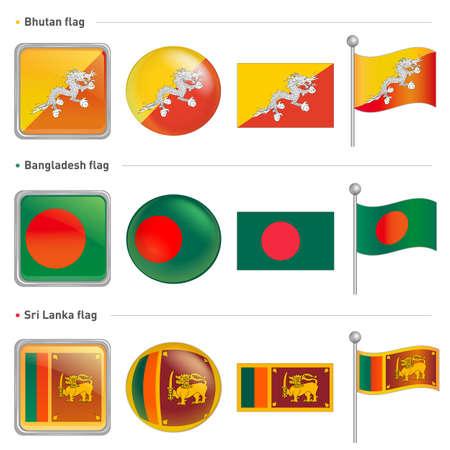 bhutan: Bangladesh and Sri Lanka, Bhutan national Icon