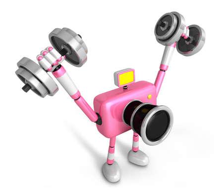 m resultado de la imagen de mancuernas pesas rosa