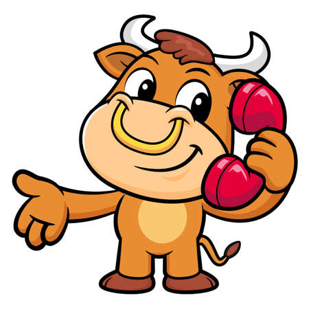 call me: Bull Character Please call me today.