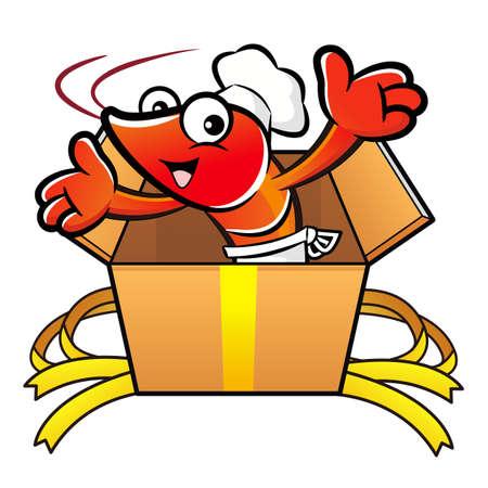 crustacea: Shrimp Character is in big box.