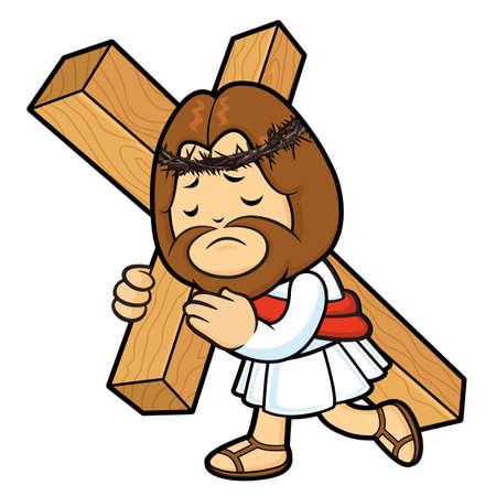 vespers: Jesus Character bears one´s cross.