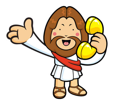 call me: Jesus Character Please call me today.