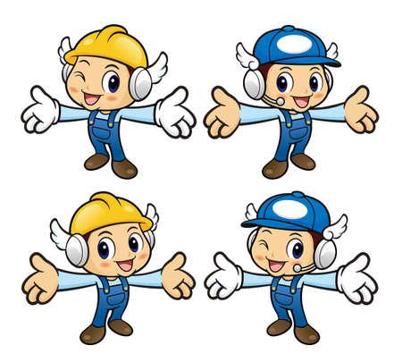 has been: Repairman Character has been welcomed with both hands.