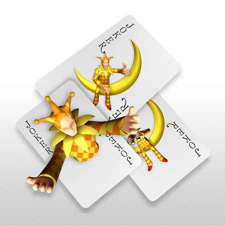 3d joker popping out trump cards