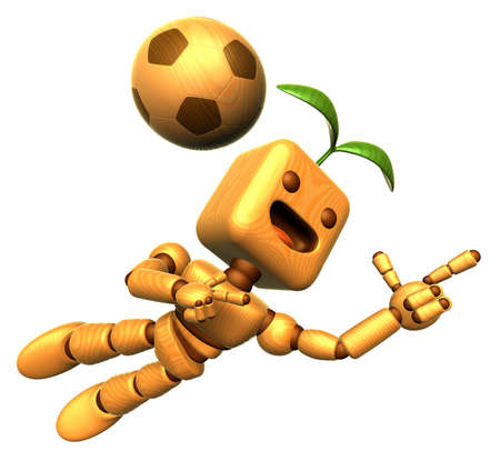 blade: 3D Wood Doll Mascot is a powerful jumping. Wooden Ball Jointed doll Character Design Series.