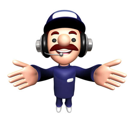 3D Mechanic Mascot is welcome.