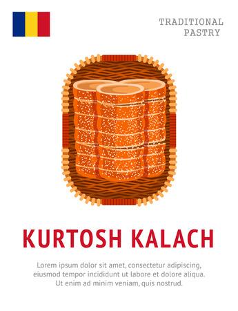 Kurtosh Kalach. National Romanian dish.
