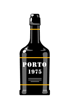 Portuguese Wine. Portuguese symbol. Vector flat illustration