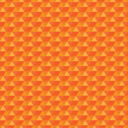 orange pattern: Seamless orange pattern triangles. Triangles are grouped by colors