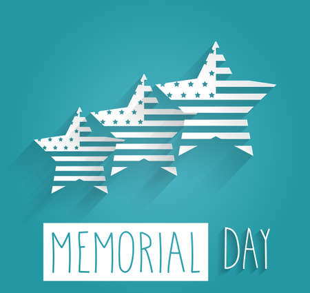 memorial day: Hand Drawn Happy Memorial Day