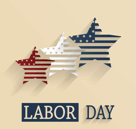 labor day: Labor Day poster Illustration