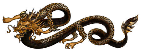 fascinating: Golden Dragon is Fascinating creature. Intelligent, dangerous and always in a gold. Lord of the fire.