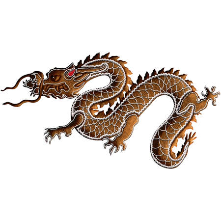 Chinese Zodiac Gingerbread Dragon - As the symbol of Chinese nation, dragon represents authority and good fortune. It is the fifth among the Chinese zodiac animals. Our is on Christmas gingerbread.