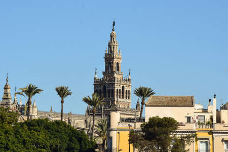observable: It is the third biggest cathedral in Europe. A masterpiece where its architecture contains Islamic, baroque and renascence influence  all from different eras. True art for the eye and wherever you may be in Seville the Cathedral has its way of showing off