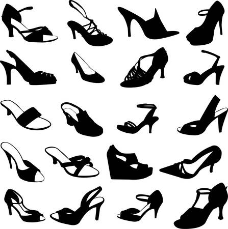 fashion shoes - vector Stock Vector - 5405459