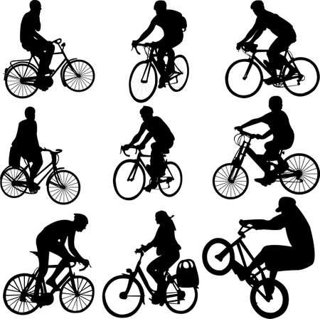 bicycle vector Vector