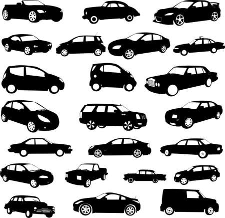 cars collection - vector Stock Vector - 5689935