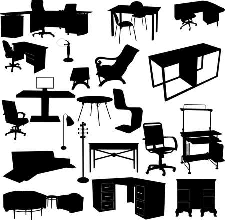 office elements - vector Stock Vector - 5791881