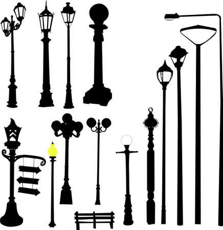 streetlights: city lights