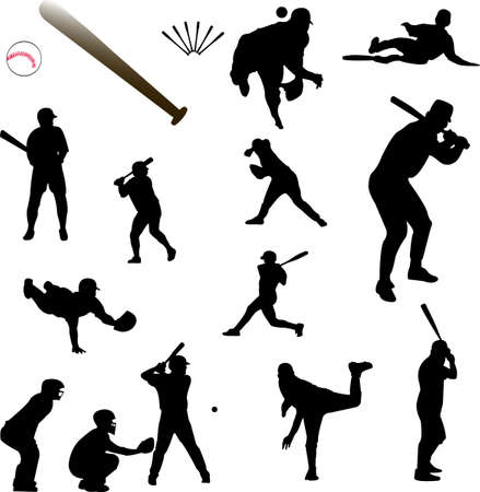 baseball collection Stock Vector - 5843928
