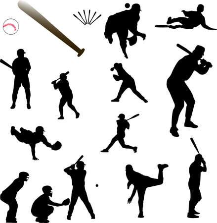 catcher baseball: collection de baseball