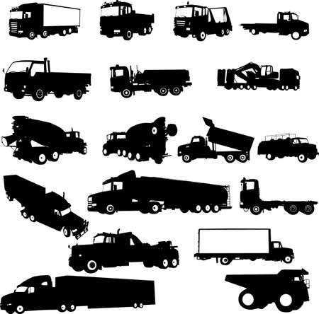 tracks collection Vector