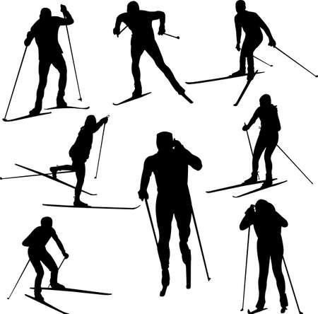 ski run: Nordic skiing