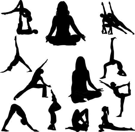 yoga Stock Vector - 6485799