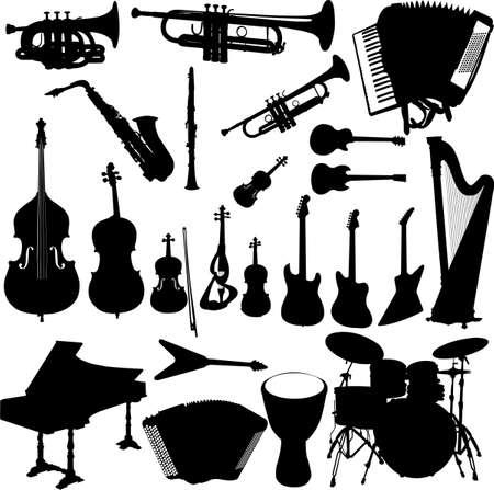 accords: music instrument Illustration