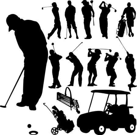 golf tee: collection of golf